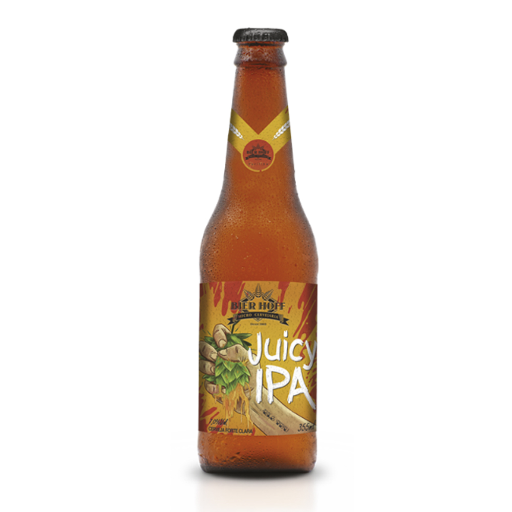Cerveja Bier Hoff Juicy IPA 355ml