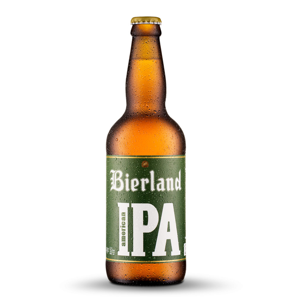 Cerveja Bierland American IPA 500ml