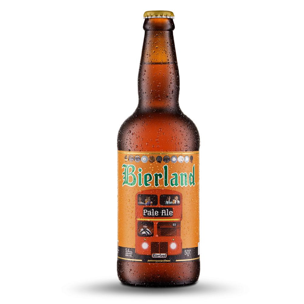 Cerveja Bierland Pale Ale 500ml