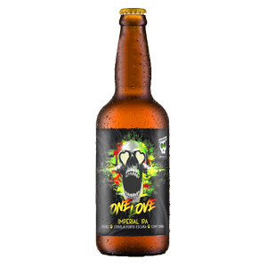 Cerveja Overhop One Love Double IPA 500ml