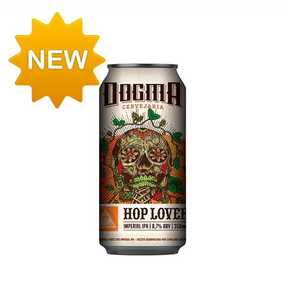Cerveja Dogma Hop Lovers Double IPA 350ml