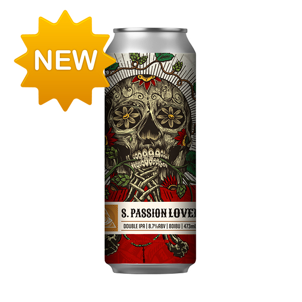 Cerveja Dogma S. Passion Lover Double IPA 473ml