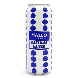 Cerveja Mikkeller Hallo Berliner Weisse Blueberry 500ml