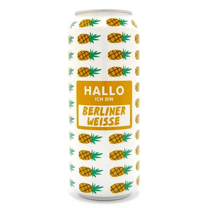 Cerveja Mikkeller Hallo Berliner Weisse Pineapple 500ml