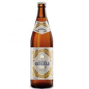 Cerveja Riegele Hefeweisse 500ml
