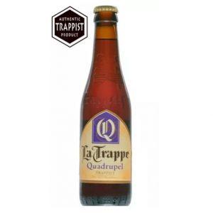 Cerveja Trappist La Trappe quadrupel 330ml