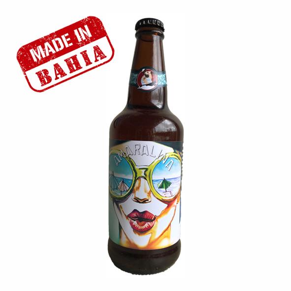 Cerveja Água de Meninos Amaralina APA 500ml
