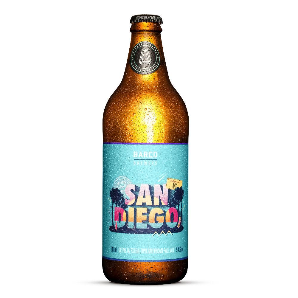 Cerveja Barco Sandiego APA 600ml