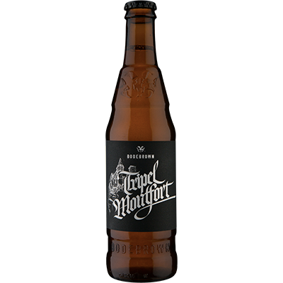 Cerveja Bodebrown Tripel Montfort Belgian Tripel 330ml
