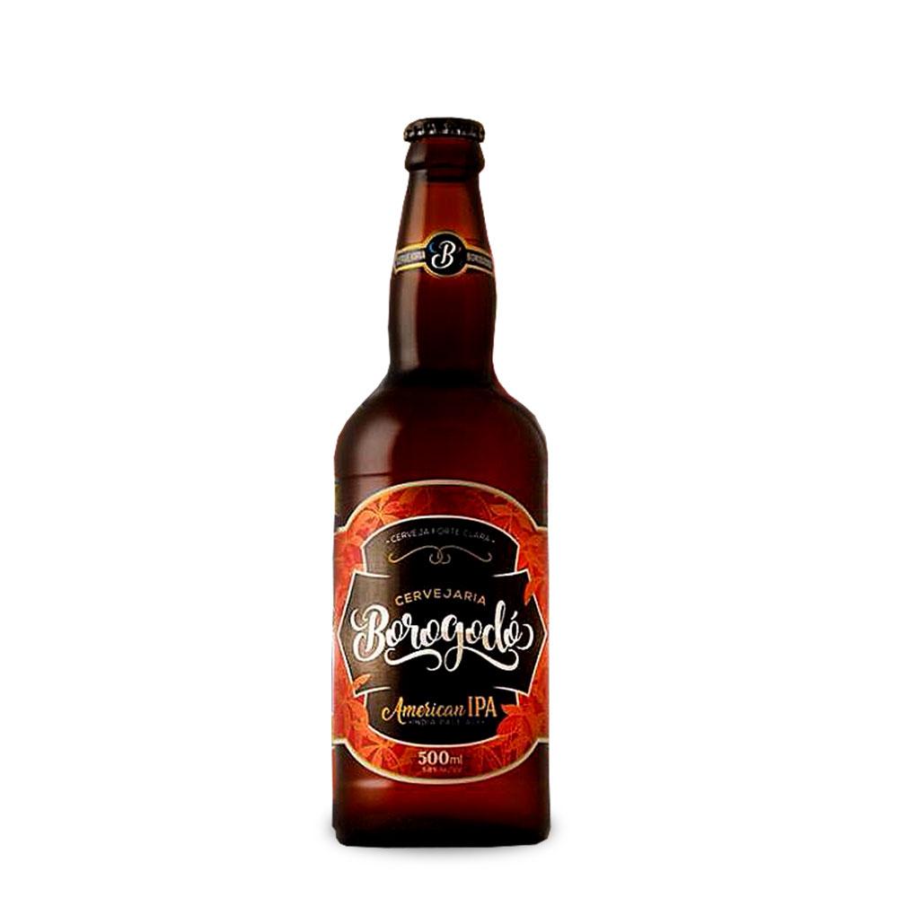 Cerveja Borogodó American IPA 500ml