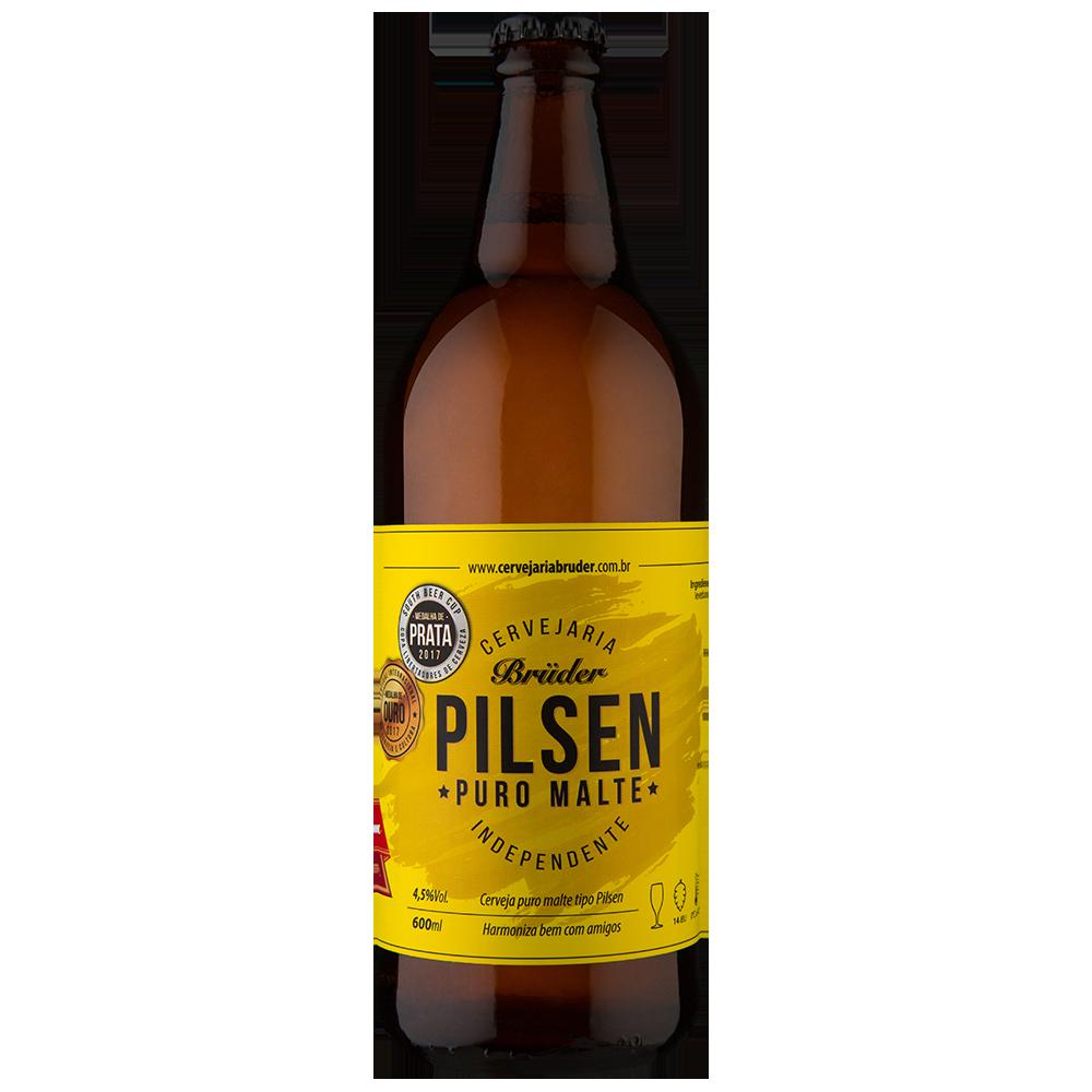 Cerveja Bruder Pilsen American Lager 600ml