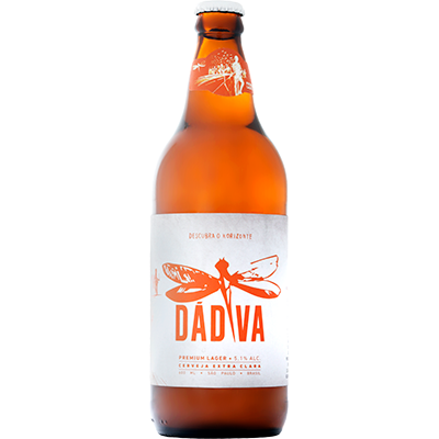 Cerveja Dádiva Premium Lager 600ml