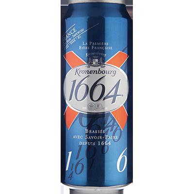 Cerveja Kronenbourg 1664 Pale Lager 500ml