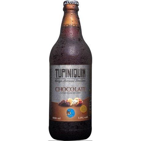 Cerveja Tupiniquim Chocolate 600ml