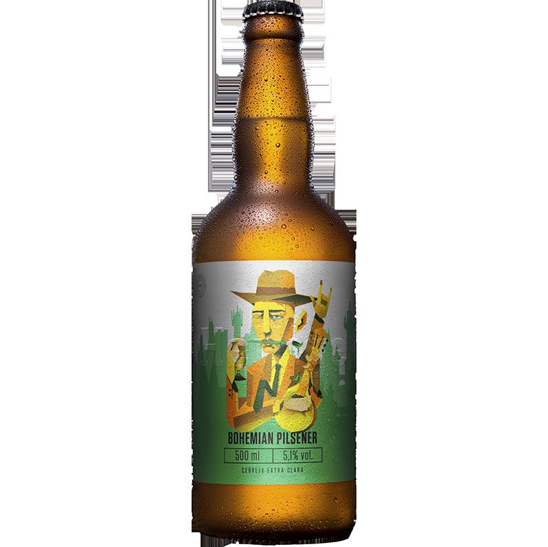 Cerveja Heilige Bohemian Pilsener 500ml