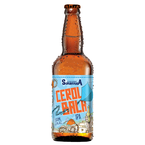 Cerveja Suburbana Cerol Bala IPA 500ml