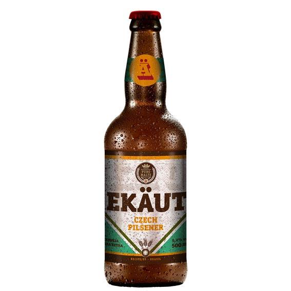 Cerveja Ekaut Czech Pilsener 500ml