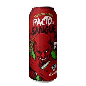 Cerveja Demonho Pacto de Sangue Juicy IPA 473ml