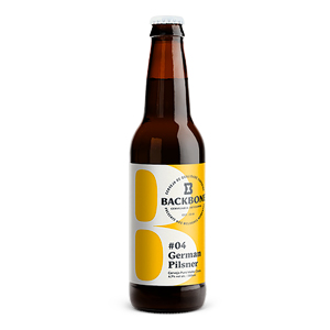 Cerveja Backbone German Pilsner 355ml