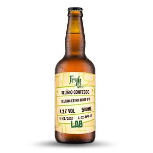 Cerveja Feyh Bier Delirio Confesso Brut IPA 500ml