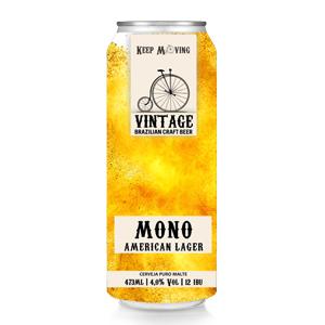 Cerveja Vintage Mono American Lager 473ml
