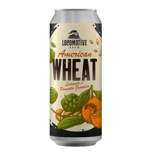 Cerveja Locomotive American Wheat Laranja e Pimenta 473ml