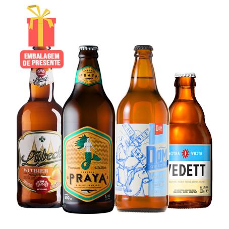 Kit Presente Cervejas de Trigo