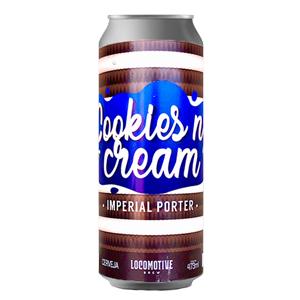 Cerveja Locomotive Cookies n Cream 473ml