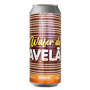 Cerveja Locomotive Wafer Avelã 473ml
