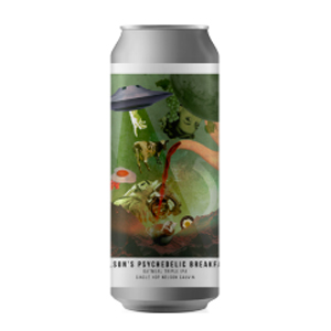 Cerveja Octopus Nelsons Psychedelic Breakfast TIPA 473 ml