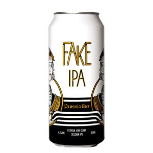 Cerveja Prussia Bier Fake IPA 473ml