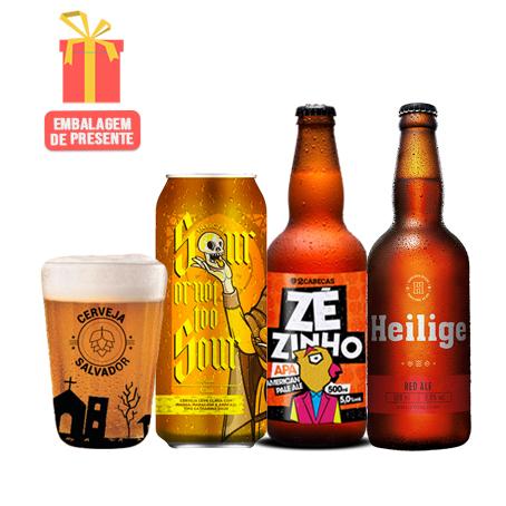 Kit Presente Cervejas Especiais