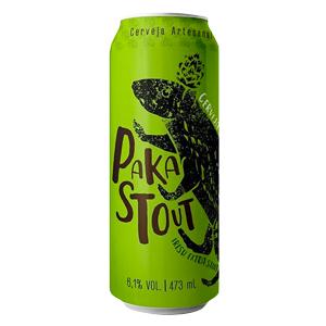Cerveja Pakas PakasStout 473ml