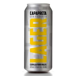 Cerveja Capa Preta Lager 473ml