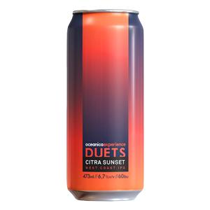 Cerveja Oceânica Duets Citra Sunset West Coast IPA 473ml