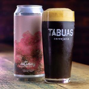 Cerveja Tábuas Cotinus Smoked Dark Lager 473ml