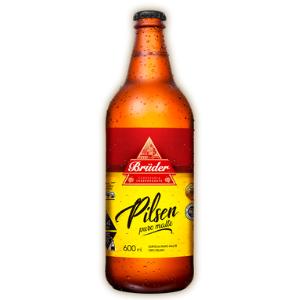Cerveja Bruder Pilsen 600ml