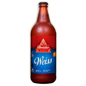 Cerveja Bruder Weiss 600ml