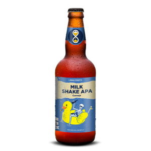 Cerveja Invicta Finito Milk Shake APA 500ml