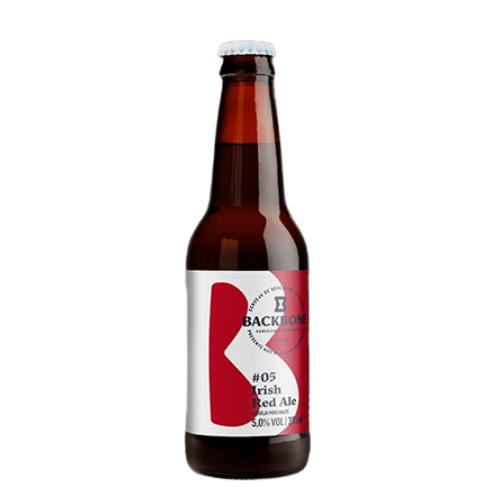 Cerveja Backbone Irish Red Ale 355ml