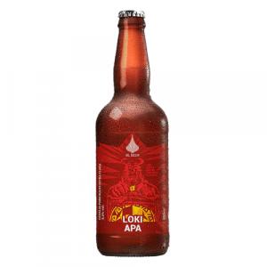 Cerveja Øl Beer Loki APA 500ml