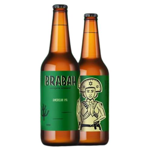 Cerveja Brabah American IPA 500ml