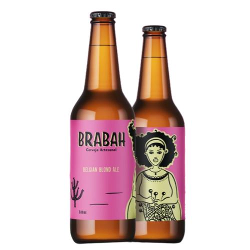 Cerveja Brabah Blond Ale 500ml