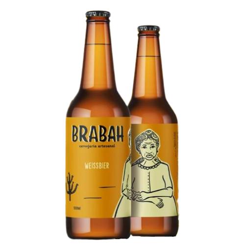 Cerveja Brabah Weissbier 500ml
