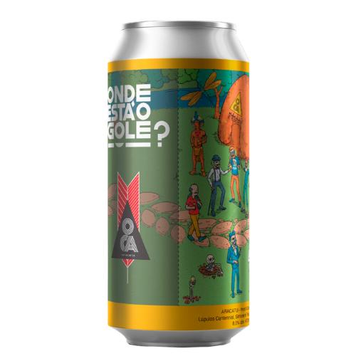 Cerveja Oca Aracatu Onde está o Golé DIPA 473ml