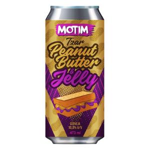Cerveja Motim Tzar Peanut Butter & Jelly 473 ml