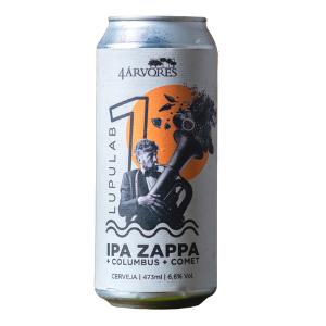 Cerveja 4 Arvores IPA ZAPPA 473ml
