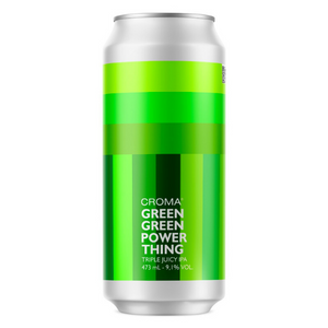 Cerveja Croma Green Power Thing 473ml